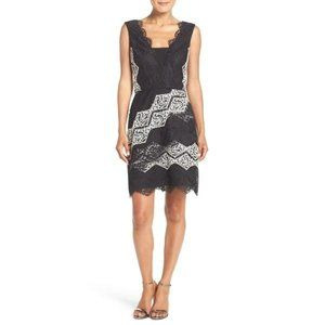 Maggy London Black Lace Dress